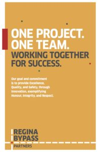 One Team Values Poster
