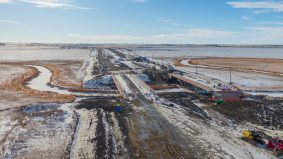 A birds eye view of Phase 2 of the Bypass Project