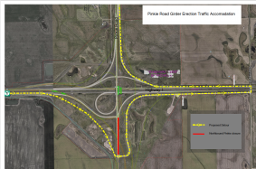 Bypass Traffic Update - Pinkie Road Detour