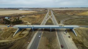 Drone video of Phase 2 of the Bypass Project