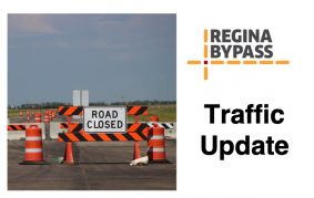 Here is the latest Regina Bypass traffic and construction update