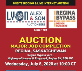 Heavy Construction Auction information