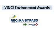 Regina Bypass wins Vinci Environmental Award.